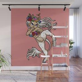 Faun Fighter (unicorn) Wall Mural