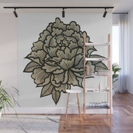 Hella Extra Traditional Flower Wall Mural