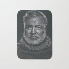 Earnest Ernest Hemingway Bath Mat