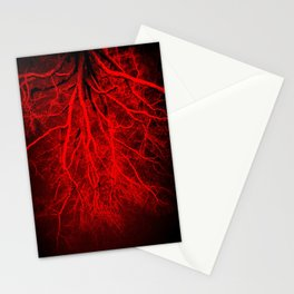 Twisted Perception Vampire Blood Red Stationery Cards