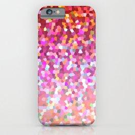 Mosaic Sparkley Texture G148 iPhone Case
