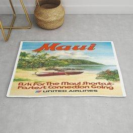 Vintage poster - Maui Rug