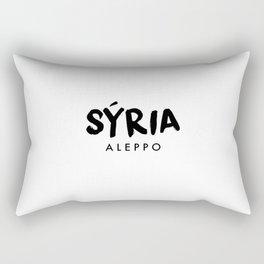 Aleppo x Syria Rectangular Pillow