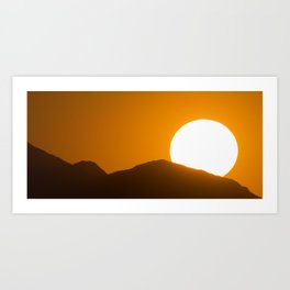 Sunset Arizona Art Print