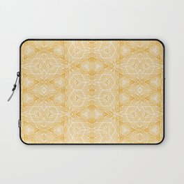 Imperfection: Three (Golden Triangles) Laptop Sleeve