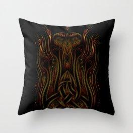 long night Throw Pillow