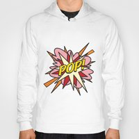 comic book Hoodies featuring Comic Book POP! by Thisisnotme