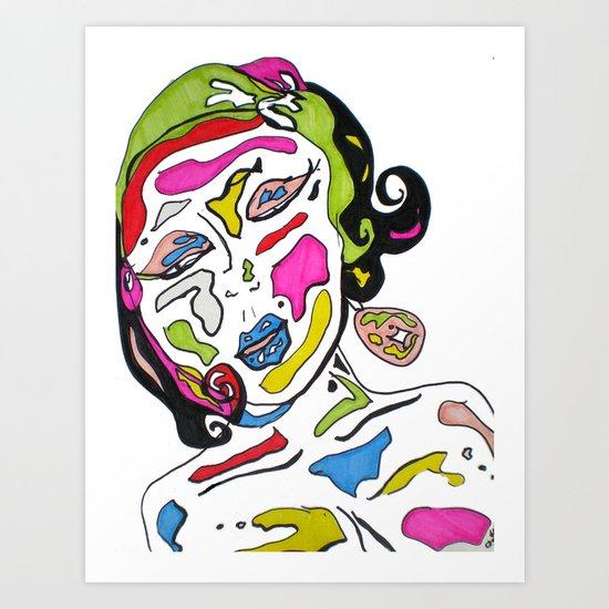 """""""Poppy"""" Art Print"""