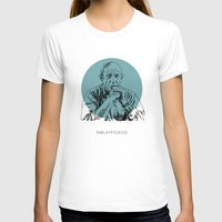 picasso T-shirts featuring Pablo Picasso by Mark McKenny