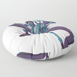 Plunger Man Floor Pillow
