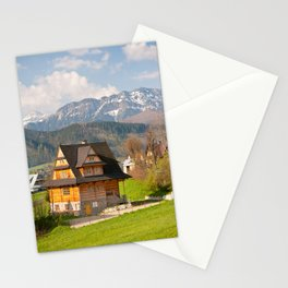 village in Tatra Country Stationery Cards