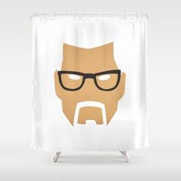 Half Life Rust Shower Curtain