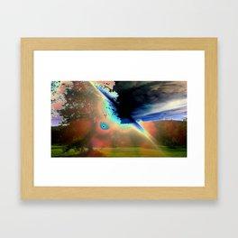 Solar Flare Framed Art Print