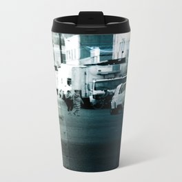 City Stripes Travel Mug