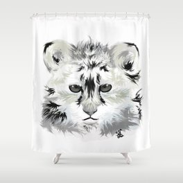 Baby tiger Shower Curtain