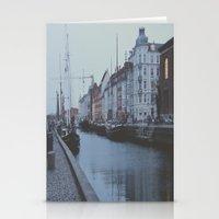 copenhagen Stationery Cards featuring Copenhagen by Gabriri