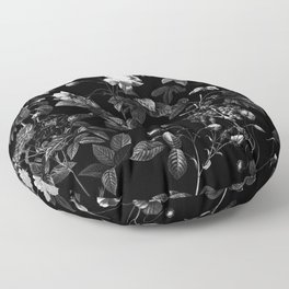 DARK FLOWER Floor Pillow