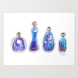 Magic Ocean Potions Art Print