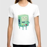 cartoon T-shirts featuring Who Wants To Play Video Games? by Nan Lawson