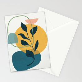 Abstract Modern Art 16 Stationery Cards