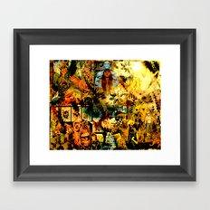 AJ Framed Art Print