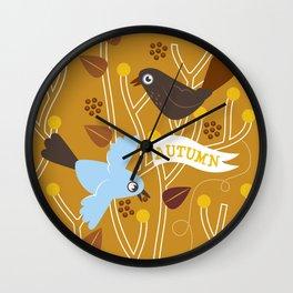 4 Seasons - Autumn Wall Clock