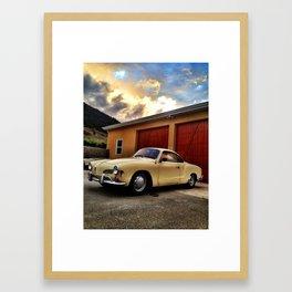 Karmann Ghia Framed Art Print