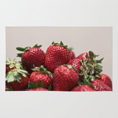 Stacked Strawberries  Rug