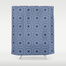 Serenity Lace Shower Curtain