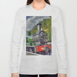 Steam Train at Bewdley Long Sleeve T-shirt