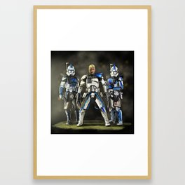 Clone trinity Framed Art Print