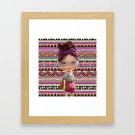 Noa Azteca by Erregiro Framed Art Print
