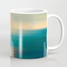 Serene and Tranquil Waters - Painterly  Coffee Mug