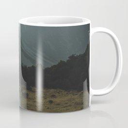 Hiking Around the Mountains & Valleys of New Zealand Coffee Mug