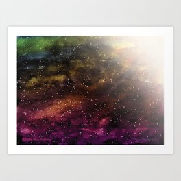 Across the Universe Art Print