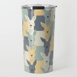 Kangaroos Travel Mug
