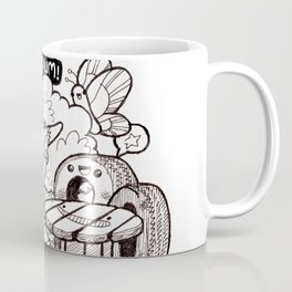 Kawaii Doodle - Goat Love Coffee Mug
