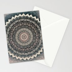 WARM WINTER MANDALA Stationery Cards