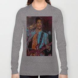 Purple Funk Long Sleeve T-shirt