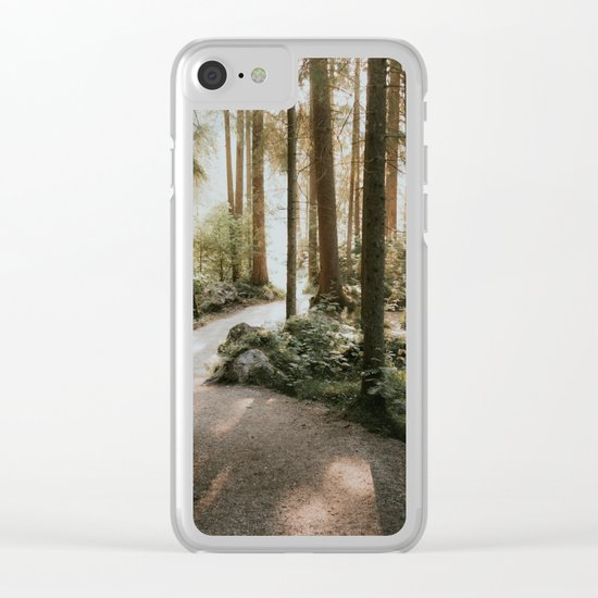 Lost in the Forest - Landscape Photography Clear iPhone Case