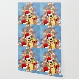 Calvin Hobbes Christmas Wallpaper