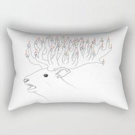 Chandeldeer Rectangular Pillow