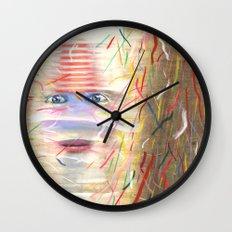 White Dreamer Wall Clock