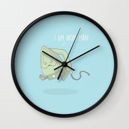I Am Iron Man #kawaii #ironman Wall Clock