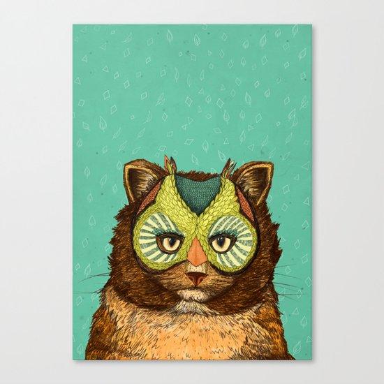 OwlCat Canvas Print
