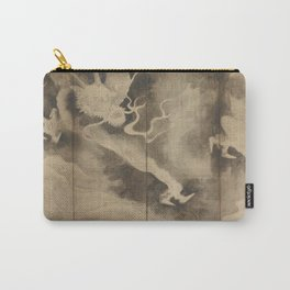 Dragons and Clouds by Tawaraya Sotatsu (俵屋 宗達) Carry-All Pouch