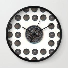 5000 Dinars Wall Clock