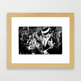 Tango Couple - Becquer Framed Art Print