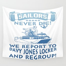 Sailors Wall Tapestry
