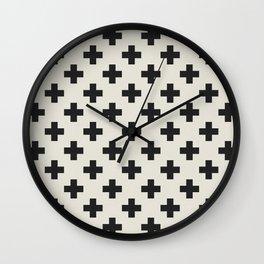 PLUS ONE Wall Clock